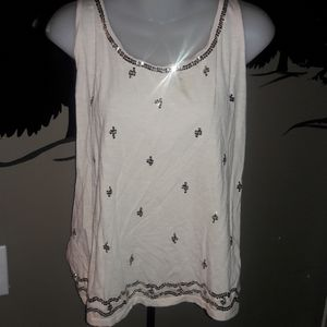 Womens sz L Old Navy sequin sexy tank